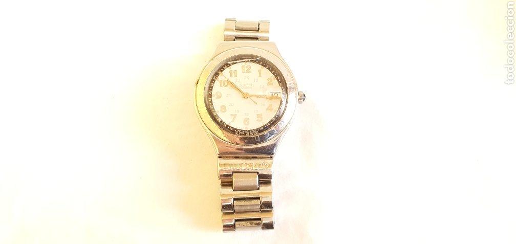 RELOJ SWATCH CUARZO .MIDE 35MM DIAMETRO SIN CONTAR LA CORONA (Relojes - Relojes Actuales - Swatch)