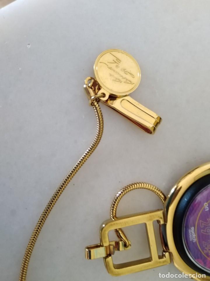 Relojes - Swatch: RELOJ VINTAGE SWATCH SUIZO BOB BEAMON ATLETISMO NUEVO. - Foto 3 - 206132730