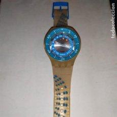Relojes - Swatch: RELOJ SWATCH SWISS BLUE OXYGEN? CR 2025 3 V AG 2004 ÚNICO?. Lote 207344331