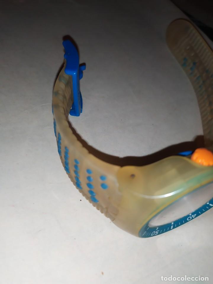 Relojes - Swatch: RELOJ SWATCH SWISS BLUE OXYGEN? CR 2025 3 V AG 2004 ÚNICO? - Foto 6 - 207344331