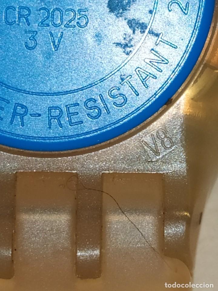 Relojes - Swatch: RELOJ SWATCH SWISS BLUE OXYGEN? CR 2025 3 V AG 2004 ÚNICO? - Foto 7 - 207344331