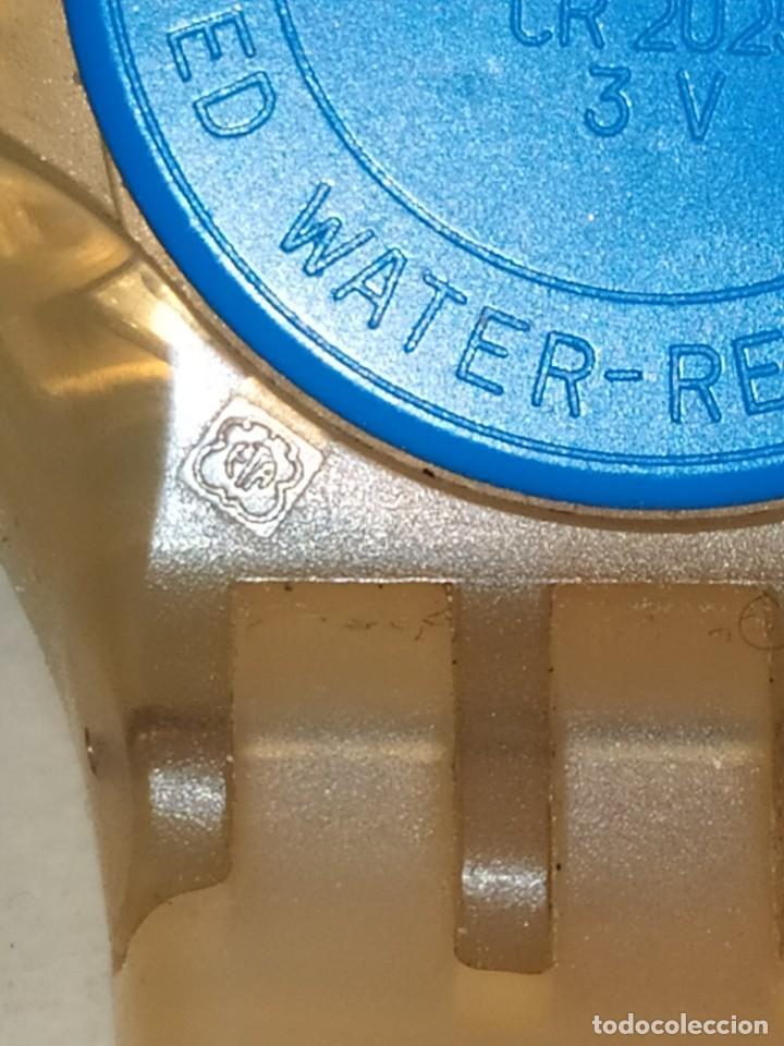 Relojes - Swatch: RELOJ SWATCH SWISS BLUE OXYGEN? CR 2025 3 V AG 2004 ÚNICO? - Foto 8 - 207344331