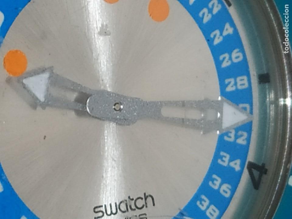 Relojes - Swatch: RELOJ SWATCH SWISS BLUE OXYGEN? CR 2025 3 V AG 2004 ÚNICO? - Foto 19 - 207344331