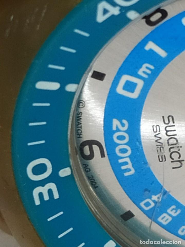 Relojes - Swatch: RELOJ SWATCH SWISS BLUE OXYGEN? CR 2025 3 V AG 2004 ÚNICO? - Foto 23 - 207344331