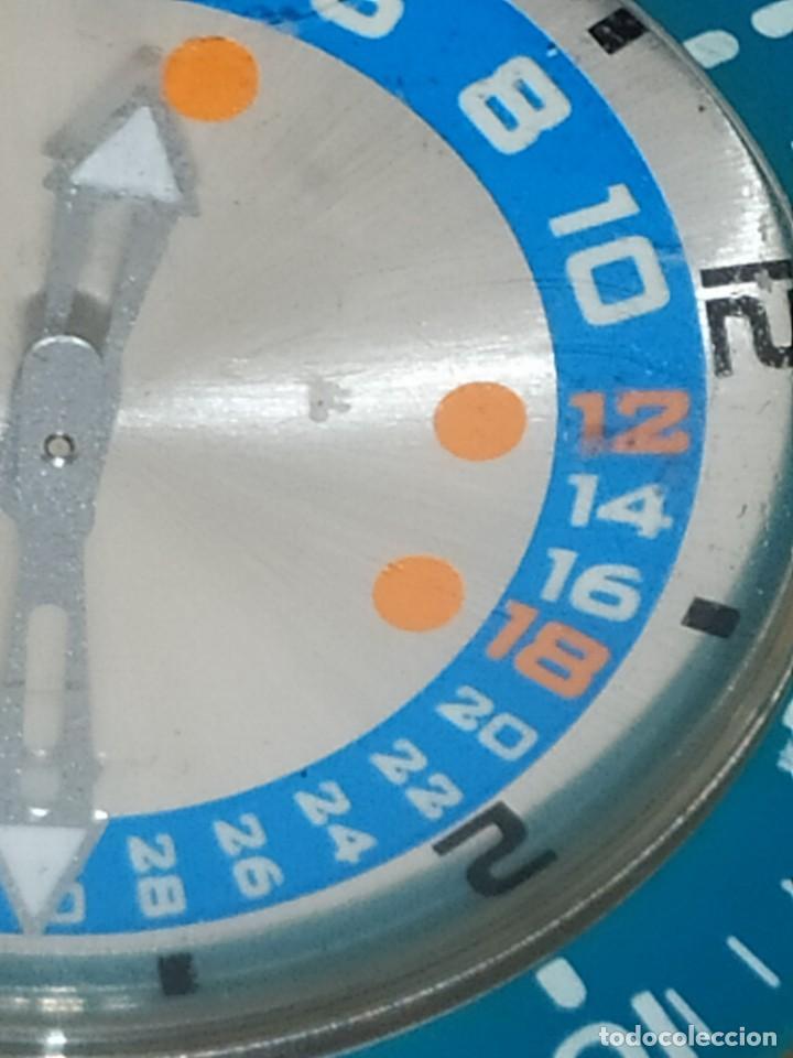 Relojes - Swatch: RELOJ SWATCH SWISS BLUE OXYGEN? CR 2025 3 V AG 2004 ÚNICO? - Foto 25 - 207344331