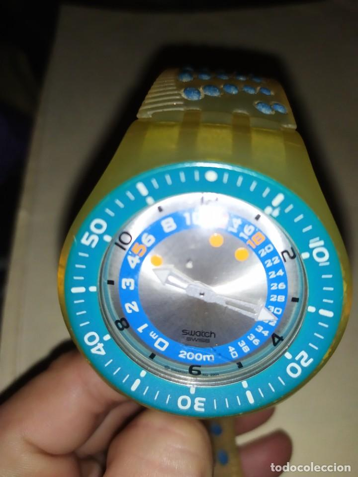Relojes - Swatch: RELOJ SWATCH SWISS BLUE OXYGEN? CR 2025 3 V AG 2004 ÚNICO? - Foto 32 - 207344331