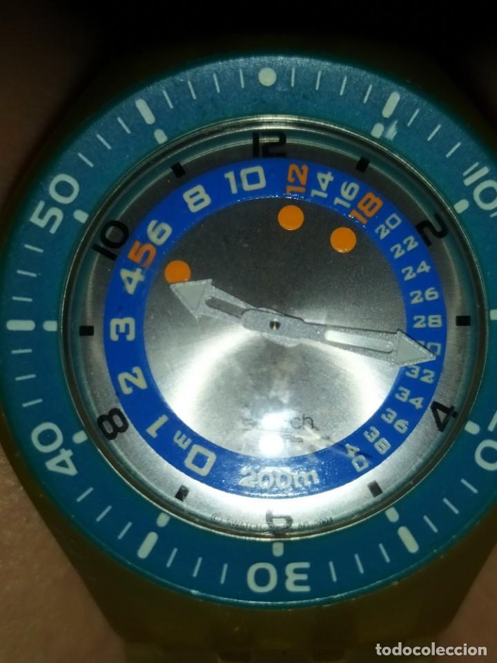 Relojes - Swatch: RELOJ SWATCH SWISS BLUE OXYGEN? CR 2025 3 V AG 2004 ÚNICO? - Foto 34 - 207344331