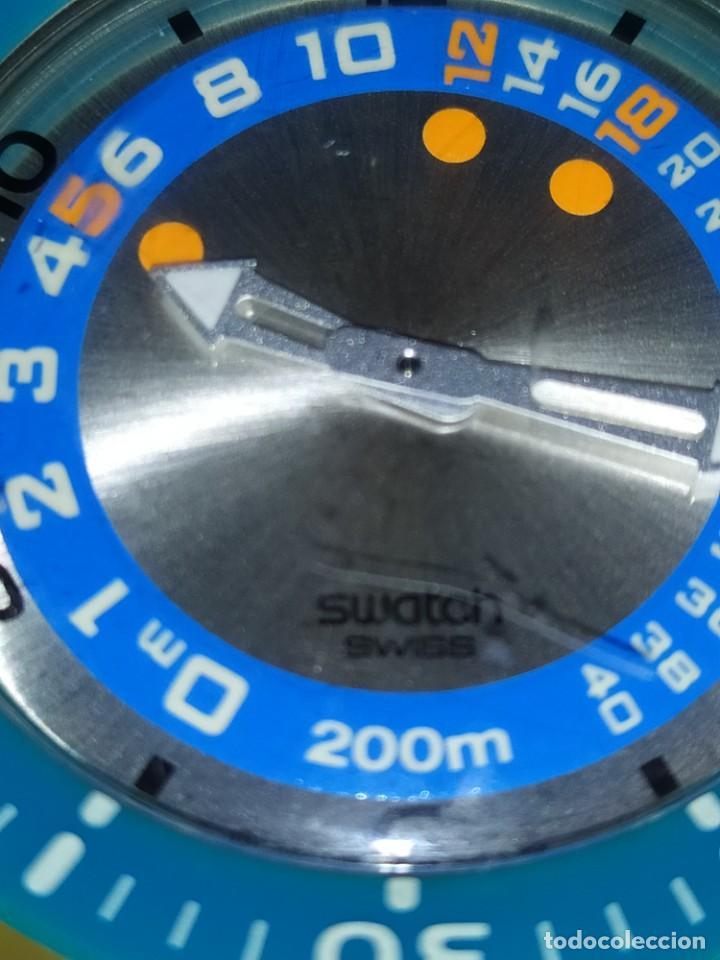Relojes - Swatch: RELOJ SWATCH SWISS BLUE OXYGEN? CR 2025 3 V AG 2004 ÚNICO? - Foto 35 - 207344331