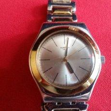 Relojes - Swatch: PRECIOSA RELOJ SWATCH IRONY -CON PULSERA ACERO MIDE 32 MM DIÁMETRO. Lote 208361995