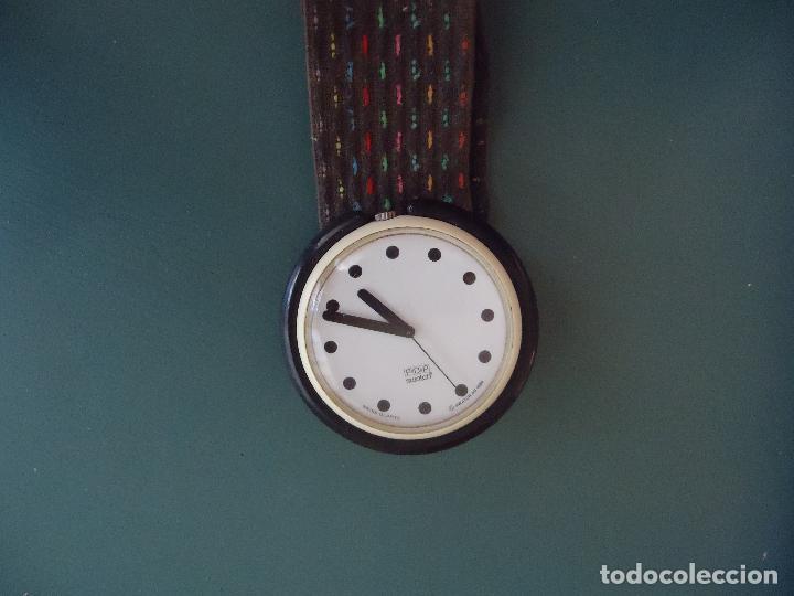 RELOJ SWATCH COLECCIONISMO. MODELO POP. DIAMETRO 4,5 CMS. (Relojes - Relojes Actuales - Swatch)