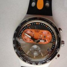 Relojes - Swatch: RELOJ SWATCH IRONY CHRONO AG 2004 - FUNCIONA BIEN - CON SIGNOS DE USO - VER FOTOS. Lote 210240791
