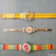 Relojes - Swatch: SWATCH LOTE INCLUYE EL DE CINTA METRICA. Lote 210633083