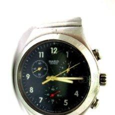 Orologi - Swatch: ANTIGUO RELOJ CRONOGRAFO SWATCH ACERO INOX. PRECIOSA ESFERA CON BATERÍA 40 MM. VER FOTOS.. Lote 211656590