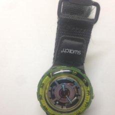 Relojes - Swatch: RELOJ SWATCH - GREEN - CORREA VELCRO. Lote 211727465