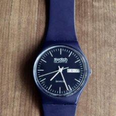 Relojes - Swatch: SWATCH GN700 RELOJ DE PULSERA VINTAGE DE 1983 – SUIZO ORIGINAL, DE LA PRIMERA SERIE – 7 AGUJEROS. Lote 212100682