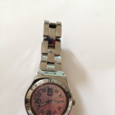 Relojes - Swatch: RELOJ SWATCH IRONY, SWISS MADE V8. HAY QUE CAMBIAR PILA. Lote 212713817