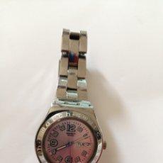 Relojes - Swatch: RELOJ SWATCH IRONY, SWISS MADE V8. HAY QUE CAMBIAR PILA. Lote 212713817