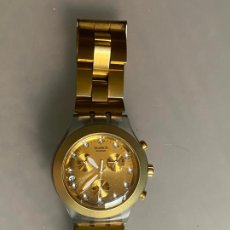 Relojes - Swatch: RELOJ SWATCH , CUARZO , IRONY DIAPHANE CHRONO. Lote 212762950