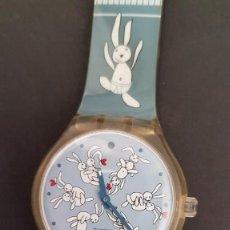 Relojes - Swatch: RELOJ SWATCH CONEJITOS KAMA SUTRA * NECESITA BATERIA. Lote 213237223