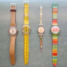 Orologi - Swatch: SWATCH LOTE DE 4 INCLUYE EL DE CINTA METRICA. Lote 213757458