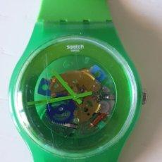 Orologi - Swatch: RELOJ SWATCH PULSERA VERDE. Lote 216835277