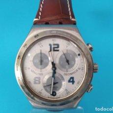 Relojes - Swatch: SWATCH CHRONOGRAPH IRONY VINTAGE CAJA EN UNA SOLA PIEZA EN ALUMINIO GRANDE. Lote 217209777