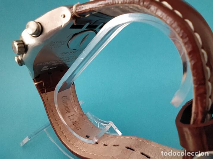 Relojes - Swatch: SWATCH CHRONOGRAPH IRONY VINTAGE CAJA EN UNA SOLA PIEZA EN ALUMINIO GRANDE - Foto 4 - 217209777