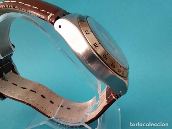 Relojes - Swatch: SWATCH CHRONOGRAPH IRONY VINTAGE CAJA EN UNA SOLA PIEZA EN ALUMINIO GRANDE - Foto 7 - 217209777