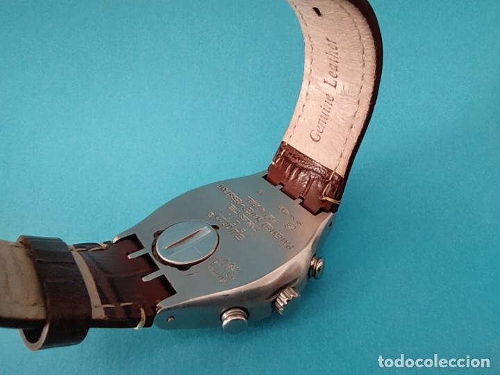 Relojes - Swatch: SWATCH CHRONOGRAPH IRONY VINTAGE CAJA EN UNA SOLA PIEZA EN ALUMINIO GRANDE - Foto 12 - 217209777