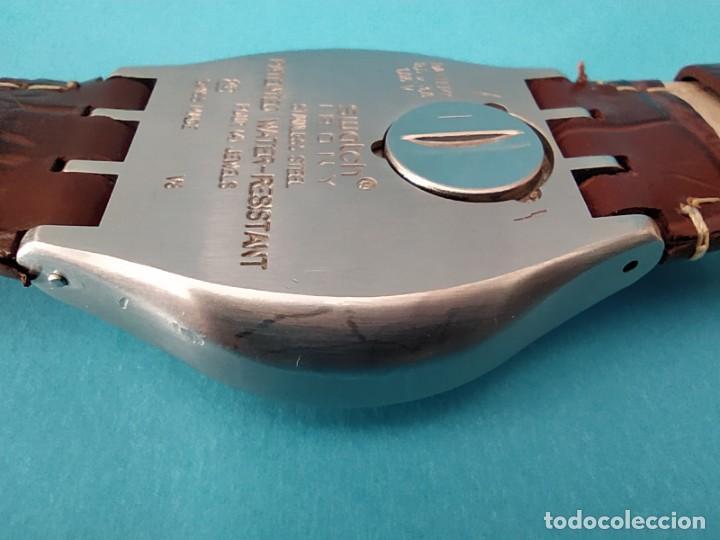 Relojes - Swatch: SWATCH CHRONOGRAPH IRONY VINTAGE CAJA EN UNA SOLA PIEZA EN ALUMINIO GRANDE - Foto 16 - 217209777
