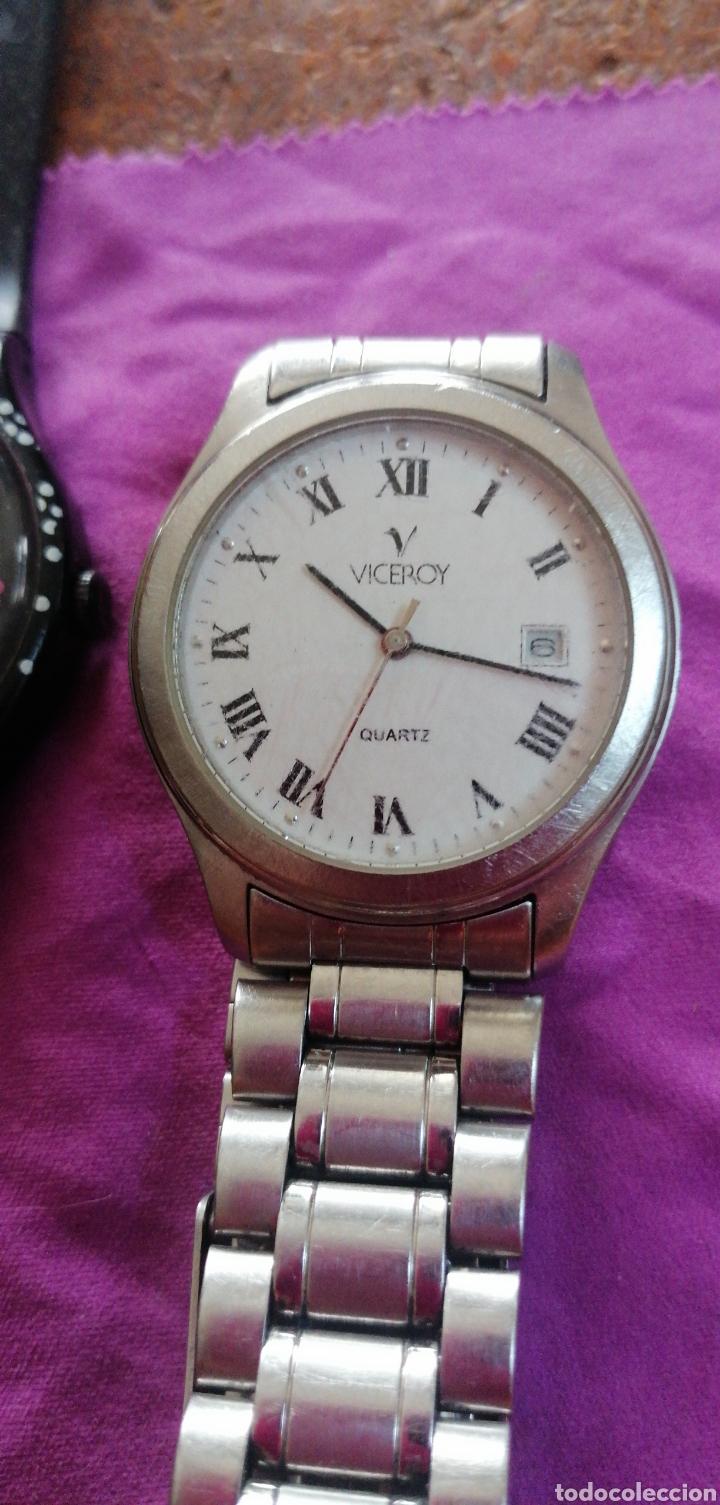 Relojes - Swatch: PAREJA DE RELOJES MARCA VICEROY Y SWATCH DE CABALLERO - Foto 2 - 218199203