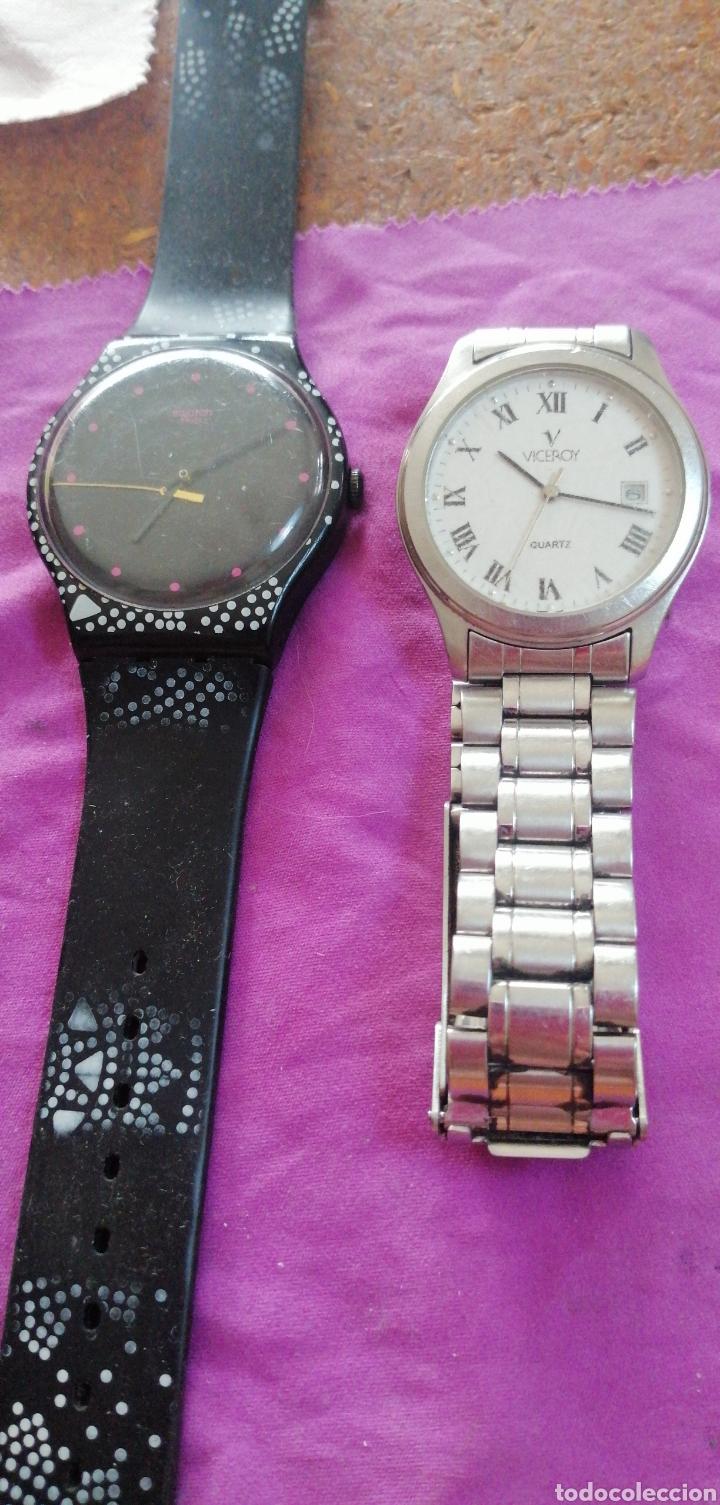 Relojes - Swatch: PAREJA DE RELOJES MARCA VICEROY Y SWATCH DE CABALLERO - Foto 3 - 218199203