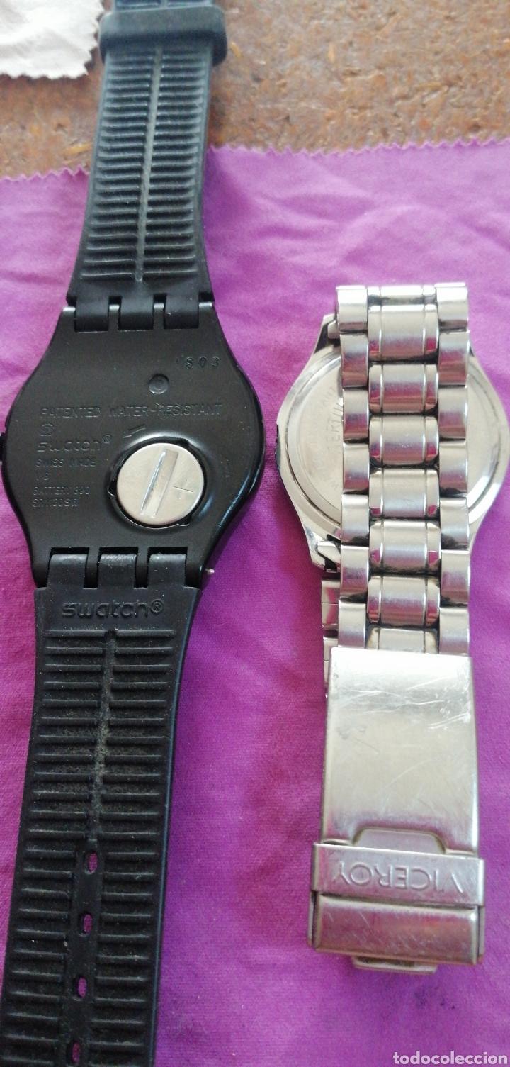 Relojes - Swatch: PAREJA DE RELOJES MARCA VICEROY Y SWATCH DE CABALLERO - Foto 4 - 218199203