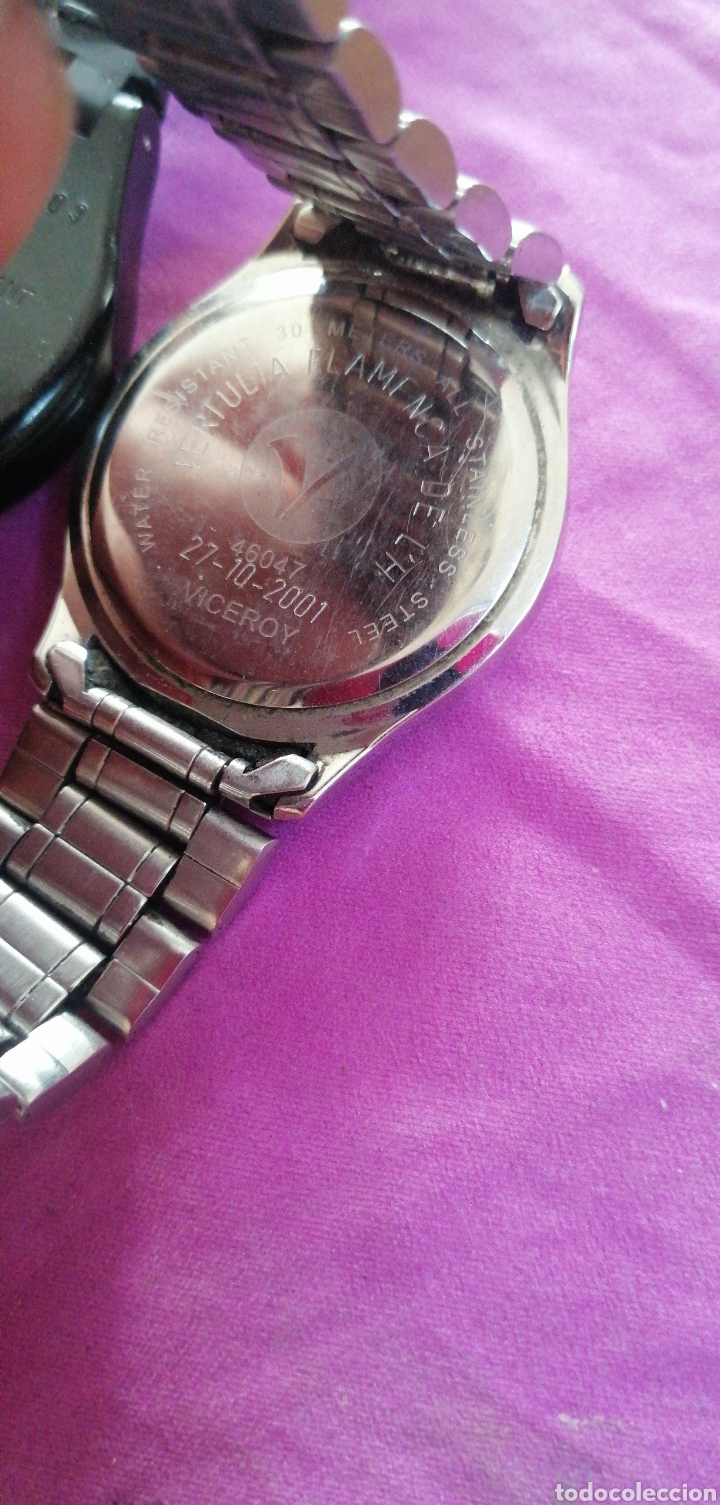 Relojes - Swatch: PAREJA DE RELOJES MARCA VICEROY Y SWATCH DE CABALLERO - Foto 5 - 218199203