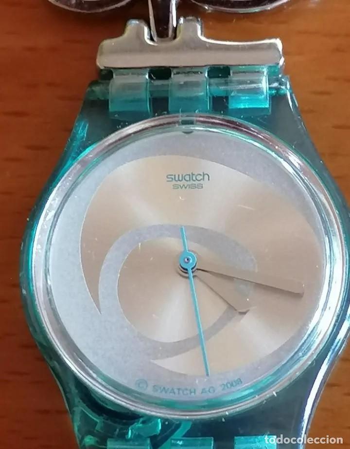 Relojes - Swatch: SOFISTICADO Y JUVENIL RELOJ MARCA SWATCH AG 2008 DISEÑO EXCLUSIVO - Foto 2 - 218289823