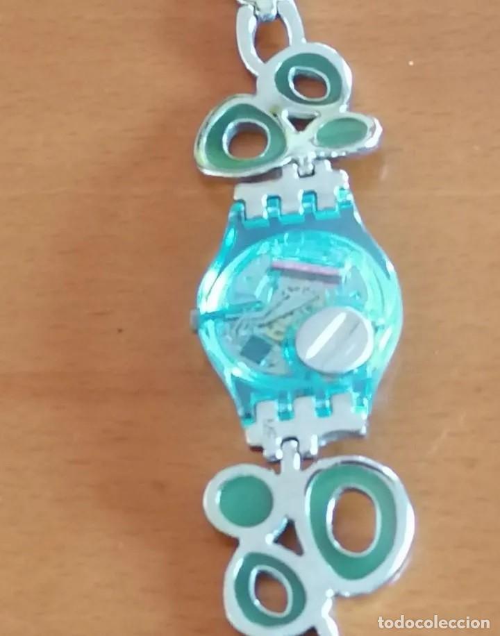 Relojes - Swatch: SOFISTICADO Y JUVENIL RELOJ MARCA SWATCH AG 2008 DISEÑO EXCLUSIVO - Foto 4 - 218289823