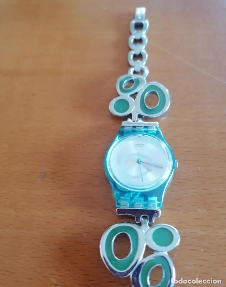 SOFISTICADO Y JUVENIL RELOJ MARCA SWATCH AG 2008 DISEÑO EXCLUSIVO (Relojes - Relojes Actuales - Swatch)