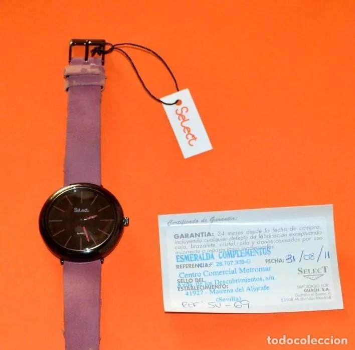 Relojes - Swatch: RELOJ PARA DAMA MARCA *SELECT* , CON ESTUCHE Y TICKET DE COMPRA ORIGINAL. NOES - Foto 3 - 218291441
