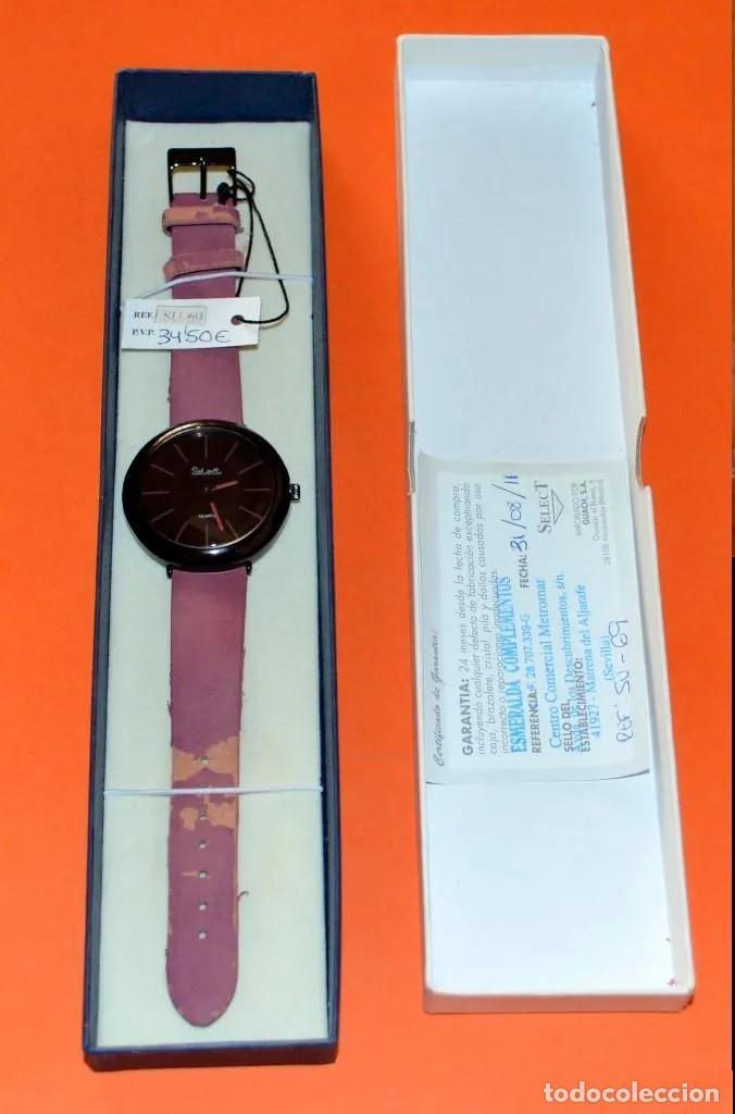 RELOJ PARA DAMA MARCA *SELECT* , CON ESTUCHE Y TICKET DE COMPRA ORIGINAL. NOES (Relojes - Relojes Actuales - Swatch)