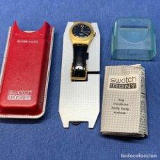 Relojes - Swatch: RELOJ SWATCH IRONY BIG MEDIUM LADY REF. YLG4000 CON CAJA - SIN USAR. Lote 219147838