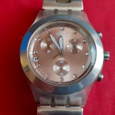 Relojes - Swatch: RELOJ SWATCH SUISS CRONO CUARZO .MIDE 42 MM. Lote 219861552