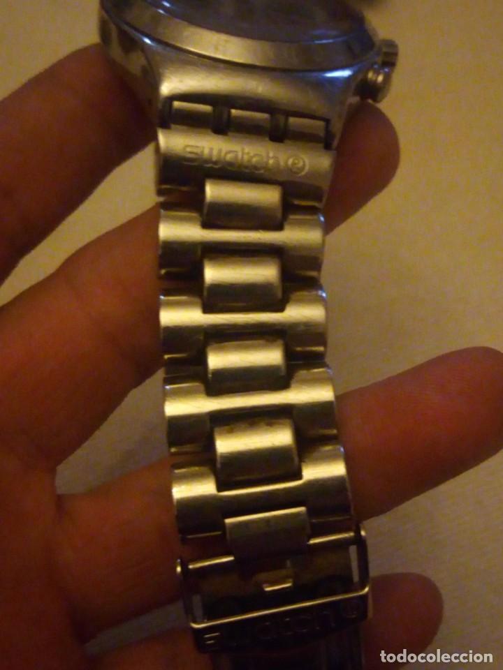 Relojes - Swatch: Reloj cronógrafo de caballero swatch irony swiss made - Foto 7 - 223734932
