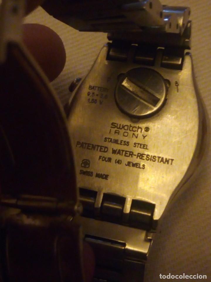 Relojes - Swatch: Reloj cronógrafo de caballero swatch irony swiss made - Foto 8 - 223734932