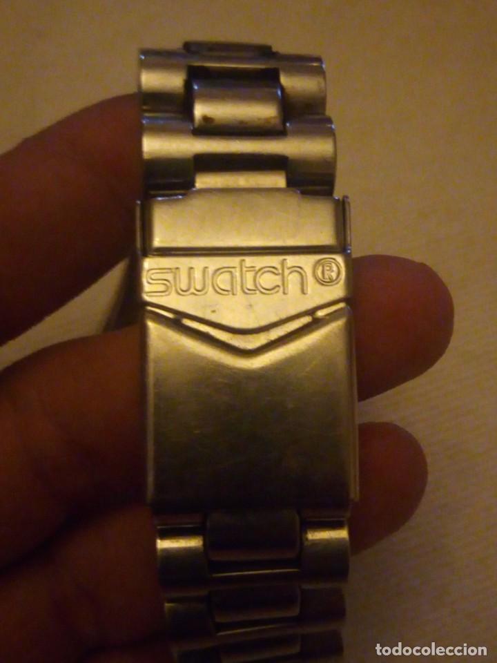 Relojes - Swatch: Reloj cronógrafo de caballero swatch irony swiss made - Foto 9 - 223734932