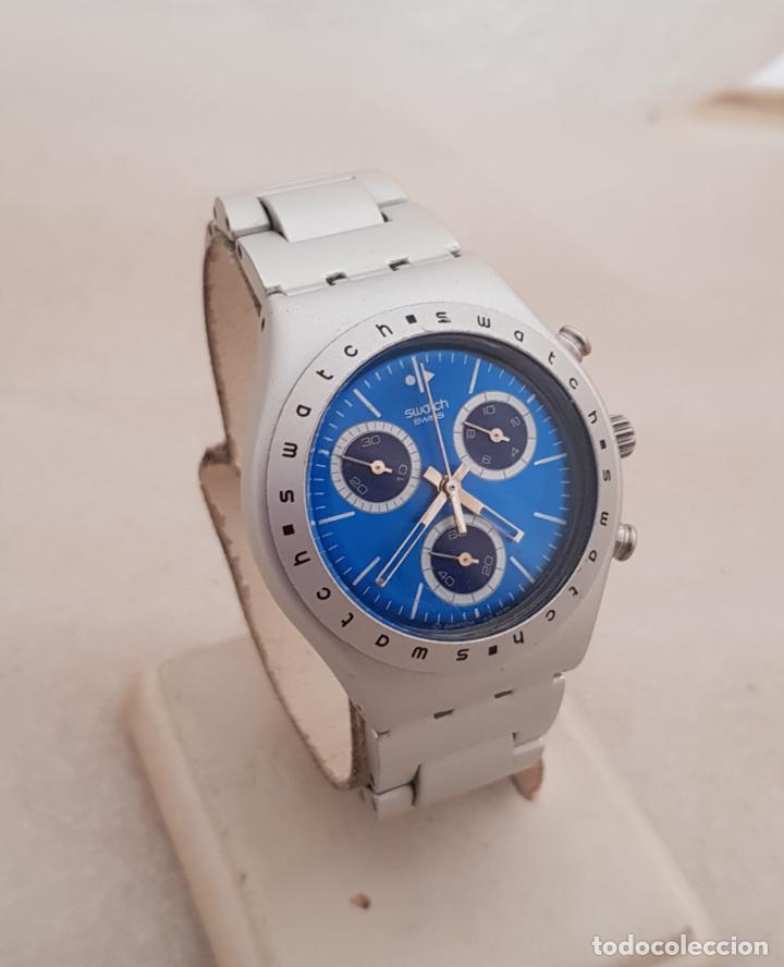 SWATCH DAMA ALUMINIUM BUEN ESTADO 35MM (Relojes - Relojes Actuales - Swatch)