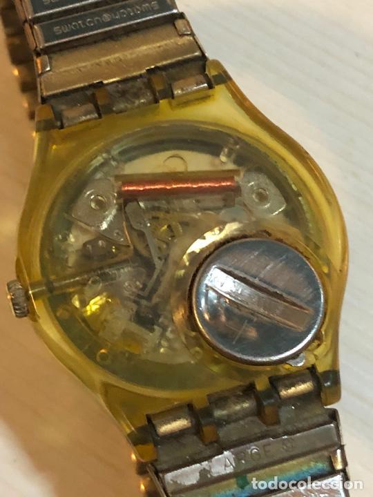 Relojes - Swatch: Antiguo reloj Swatch - Swiiss Made bonita esfera en funcionamiento con batería nueva. Ver fotos - Foto 2 - 224711502