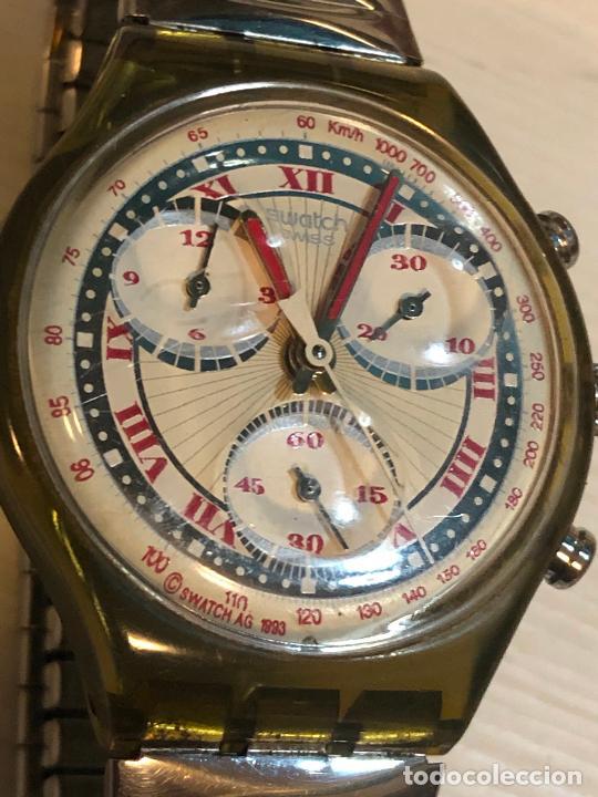 Relojes - Swatch: Antiguo reloj Swatch - Swiiss Made bonita esfera CRONOGRAFO funcionamiento batería nueva. Ver fotos - Foto 2 - 224711821