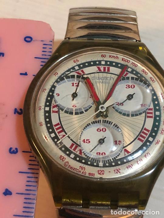 Relojes - Swatch: Antiguo reloj Swatch - Swiiss Made bonita esfera CRONOGRAFO funcionamiento batería nueva. Ver fotos - Foto 4 - 224711821