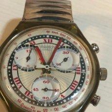 Relojes - Swatch: ANTIGUO RELOJ SWATCH - SWIISS MADE BONITA ESFERA CRONOGRAFO FUNCIONAMIENTO BATERÍA NUEVA. VER FOTOS. Lote 224711821