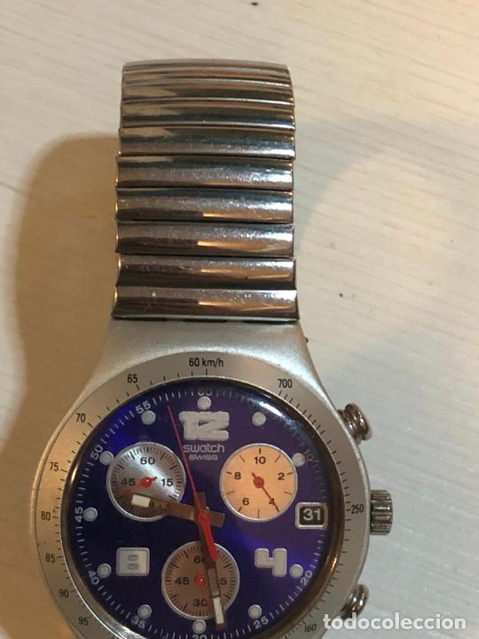 Relojes - Swatch: Antiguo reloj Swatch - Swiiss Made bonita esfera CRONOGRAFO funcionamiento batería nueva. Ver fotos - Foto 2 - 224712026